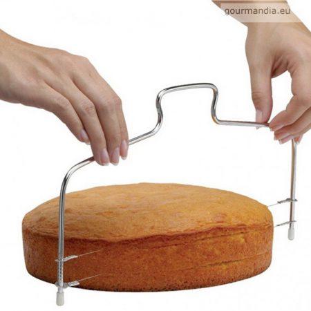 Perfect Home tortaszeletelő - drótos
