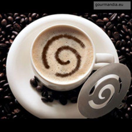Perfect Home cappuccino diszítő sablon