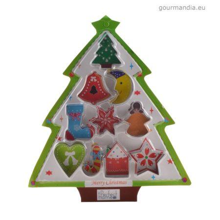 Perfect Home karácsonyi kekszkiszúró készlet