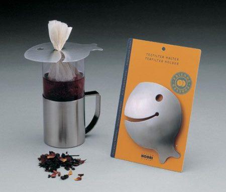 Hogri teafiltertartó