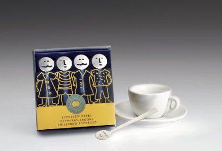 Hogri kávéskanál készlet