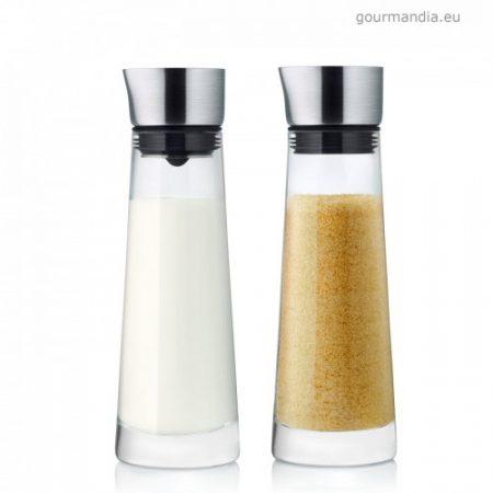 Macchiato cukor és tejkiöntő szett