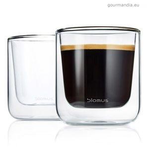 Blomus Nero eszpresszó pohár szett