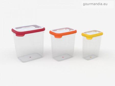 Joseph & Joseph műanyag tárolódoboz szett (3db-os)